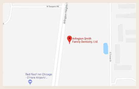 Map 1 Arlington Smith Family Dentistry Arlington Heights, IL